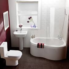 simple small bathrooms. Retro Small Bathroom Decoration With Comfortable Ideas Simple Bathrooms A