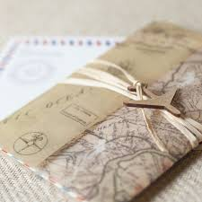 inspiration destination wedding invitations wed pinterest Wedding Invitations Vintage Style Uk vintage air mail wedding invitation wrapped w a vintage map of your location & sealed w raffia & a wooden airplane, this invite is sure cheap vintage style wedding invitations uk