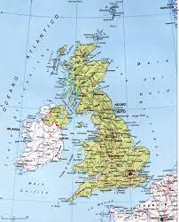 Territorio Storia Economia Regno Unito di Gran Bretagna e Irlanda del Nord.  Europa