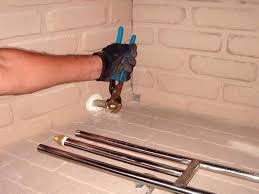 make lighting fire faster gas log lighter for wood burning fireplace blue flame