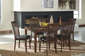 Ashley D411425 Mallenton Table with 6 Chairs
