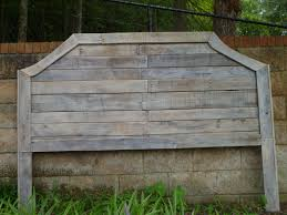 Grey Wash Wood Stain Pallet Headboards With Gray Wash Stain Projects Pinterest