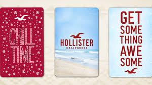 hollister credit card