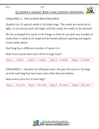 quadra s magic bag challenge answers tyger s fishy problems