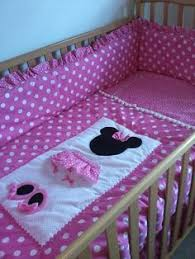 13 best Minnie Mouse Quilts images on Pinterest | Minnie mouse ... & Minnie Mouse Pretty in Pink 6 Piece Nursery Set. If my baby is a girl this  is her theme. Adamdwight.com