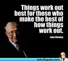 John Wooden Quotes Gorgeous John Wooden Legendary UCLA Coach And Teacher And Much More John