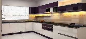 Indian Modular Kitchen Design L Shape Cocoa Modular Kitchen Kochi Kerala Bangalore