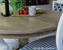 simple details diy arhaus inspired weathered table