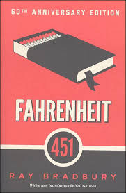 fahrenheit 451 book i had to read this for cl but it was actually probably the best book i read in that cl