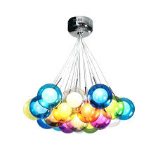multi colored chandelier lighting modern chandeliers lights led bulbs included multi color glass chandelier multi coloured