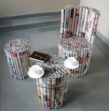 ... Enchanting Recycled Furniture Ideas 125 Recycled Outdoor Furniture  Ideas Recycled Newspaper Best Furniture: Full Size