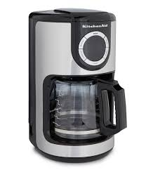 kitchenaid programmable 12 cup coffee maker
