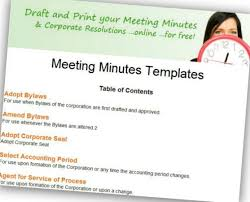 corporate annual meeting minutes sample corpnet adds free meeting minutes and corporate document templates