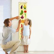 Lovebird Growth Chart Growth Ruler Vegetables Height Chart For Baby Growth Chart Canvas Personalized Height Chart Nursery Wall Decor Newborn Gift