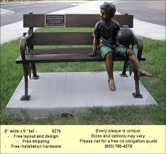 bronze plaques preserve memories