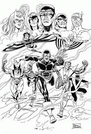 Small Picture Coloring Page X men coloring pages 29