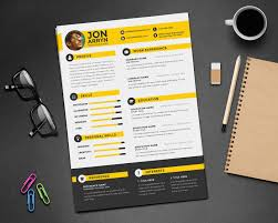Free Resume Templates For Designers free resume templates 100 free creative resume cv design template 9