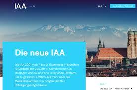 Jun 21, 2021 · im september will die iaa in münchen ein zeichen des aufbruchs senden. Iaa 2021 Neuer Standort Neues Konzept