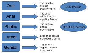 Sigmund Freud Chart Psychosexual Stages Simply Psychology