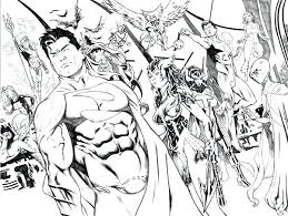 Justice League Coloring Pages And Adorable Justice League Coloring