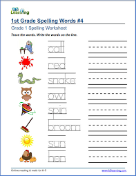 Worksheets For Spelling Words Worksheets for all   Download and ...