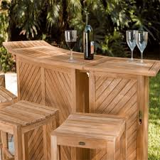 wood patio bar set. Portable And Sectional Patio Bar Furniture, Light Outdoor Home Designs Wood Set O
