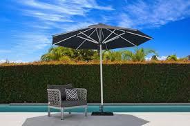 monaco outdoor umbrella 3 0m oct black