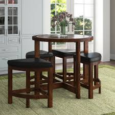 red barrel studio jinie 5 piece counter height pub table set reviews wayfair