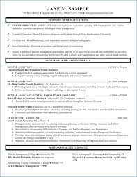 Dental Assistant Job Description Gorgeous Example Resume For Dental Assistant Resumelayout