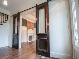 sliding doors in victorian remodel