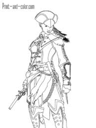 Assassin S Creed Coloring Pages Print And Color Com Shareimagesco