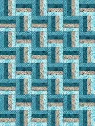 Reflections Blue Large PRE-CUT Quilt Kit Blocks | Turquoise, Place ... & Reflections Blue Large PRE-CUT Quilt Kit Blocks Adamdwight.com