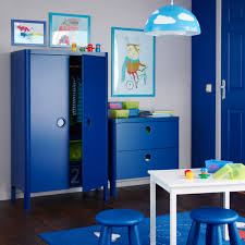 wardrobe furniture ikea. A Kidsu0027 Room With BUSUNGE Wardrobe And Chest Of Drawers In Blue Furniture Ikea