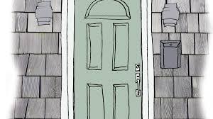exterior door paint colorsOur Favorite Coastal Front Door Color Palettes  Coastal Living