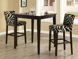 modern bar height dining table set  the right height on a bar