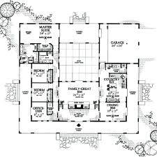 u shaped home plan awesome u shaped home plans throughout ranch style house u shaped house
