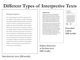 Labelling Art Writing Effective Interpretive Labels For Art Exhibitions A Nuts And