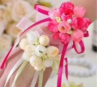 Wholesale <b>Wedding</b> Hand <b>Wrist Flower</b>