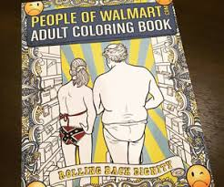 the people of walmart coloring book