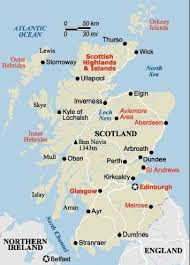 map of scotland printable. Brilliant Scotland Map Of Scotland With Of Printable N