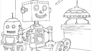 Printable Robot Coloring Pages Robots Coloring Pages Full Size Of
