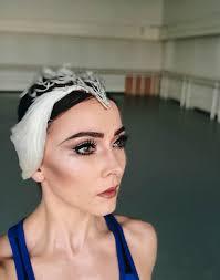 swan lake makeup look
