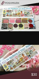 host picknew in the balm of your hand palette new in the balm of your hand palette my favorite brand perfect gift i got 2 of th