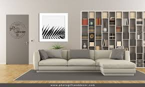 black and white nature wall art photo