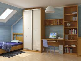 Low Ceiling Attic Bedroom Appealing Modern Low Ceiling Attic Bedroom Scheme With Painted