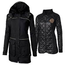 12 best Ladies Equestrian Jackets & Vests images on Pinterest ... & The Mountain Horse Ladies Wyndham 3-In-1 Coat allows for a change in Adamdwight.com