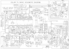 crt schematic diagram auto electrical wiring diagram colour tv circuit diagram