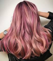 Pink Hair Colour Chart 20 Brilliant Rose Gold Hair Color Ideas For 2019