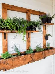 diy vertical herb garden and planter 2x4 challenge