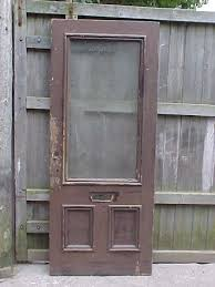 25 two panel antique door